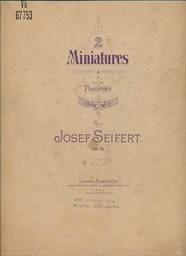 2 Miniatures, op.19