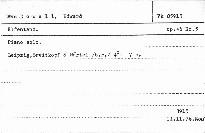 Elfentanz, op.46, No.5