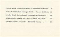 Klavírní skladby mladých českých autorů