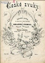 České zvuky                         (Ročník 1., sešit 2., únor 1876)