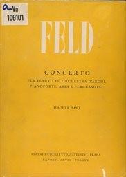 Koncert pro flétnu a smyčcový orchestr, klavír, ha