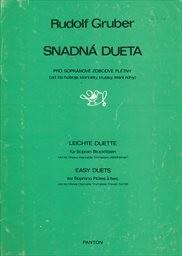 Snadná dueta pro sopránové zobcové flétny (ad lib.