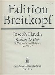Konzert D-dur für Violoncello und Orchester, Hob. VIIb:2
