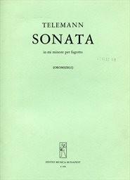 Sonata in mi minore per fagotto