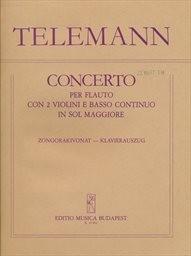 Concerto per flauto con 2 violini e basso continuo in Sol maggiore