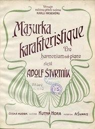 Mazurka karakteristique