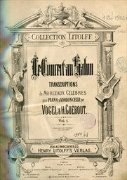 Le concert au salon