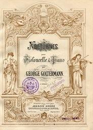 Nocturnes pour violoncelle et piano