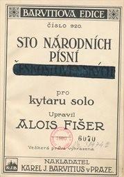 Sto národních písní československých