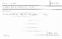 Introduktion und Passacaglia d moll für Orgel