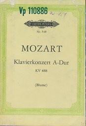 Konzert A-dur für Klavier und Orchester, KV 488