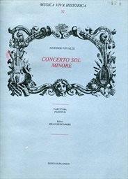 Concerto sol minore pro flétnu, housle, fagot