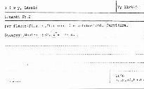 Sonanti No. 2 per flauto (fl. alto, fl. piccolo) e