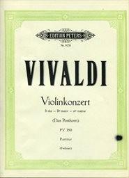 Konzert B dur (Das Posthorn) für Violine und