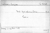 Erste Symphonie C dur, Op. 21