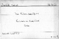 2 Walzer aus Op. 54