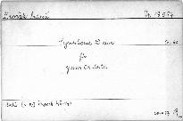 Symphonie (D dur) für grosses Orchester, op. 60