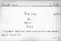 Suite für Orchester, op. 98b