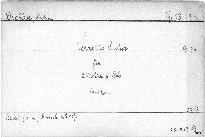 Terzetto für zwei Violinen und Viola, op. 74