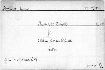 Quartett d moll für zwei Violinen, Bratsche und Violoncello, op. 34