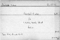 Quartett für 2 Violinen, Bratsche und Violoncell, Op. 51