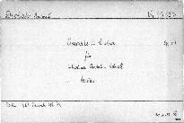 Quartett C dur für 2 Violinen, Bratsche und Violoncell, op. 61