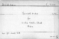 Quartett (As dur) für 2 Violinen, Bratsche und Violoncell, op. 105