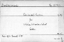 Quintett Es dur für 2 Violinen, 2 Bratschen und Violoncell, op. 97
