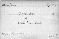 Quartett B dur für 2 Violinen, Bratsche u. Violoncell, op. 67