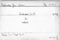 Ouverture No. XVI für Orchester, op. 238