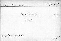 Ouverture No. XVII für Orchester, op. 242