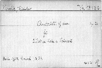 Quartett G dur für 2 Violinen, Viola und Violoncell, Op. 22