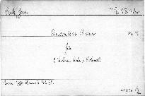 Quartet B dur für 2 Violinen, Viola u. Violoncell, op. 11