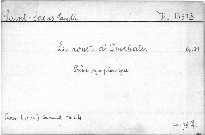 Le rouet d'mphale, op. 31