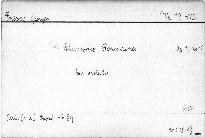 1. Rhapsodie Roumaine Op. 11 No. 1