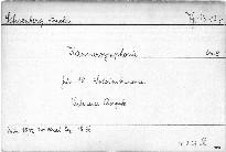 Kammersymphonie für 15 Soloinstrumente, op. 9
