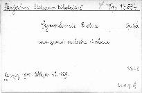 Symphonie E dur pour grand orchestre et choeur, op. 26