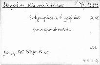 3. symphonie c moll pour grand orchestra, op. 43