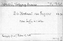 Die Hochzeit des Figaro, KV 492