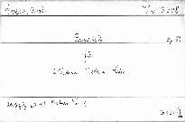 Quartett für 2 Violinen, Viola u. Cello, op. 52