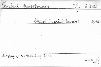 Streichquartett fis moll, op. 56
