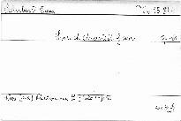 Streichquartett G dur, op. 161
