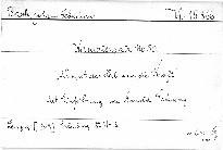 Kantatensatz No. 50