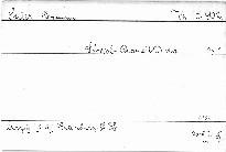 Streich-Quartett D dur, op. 1