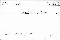 Streichquartett d moll