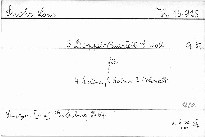 3. Doppel Quartett e moll für 4 Violinen, 2 Violen