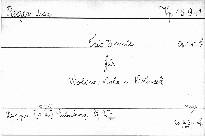 Trio D moll für Violine, Viola und Violoncell