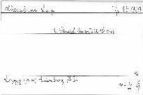 2. Streichquartett C dur