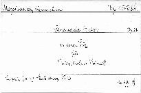 Serenade A dur Op.21 in einem Satz für Violine, Vi