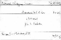 Serenade No. 8 D dur, KV 286